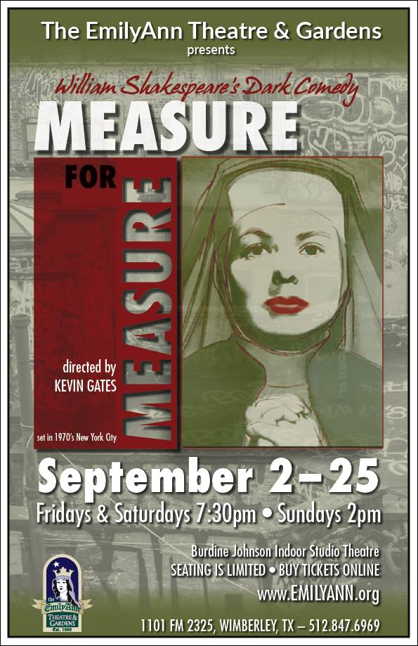Measure for Measure by Emily Ann Theatre
