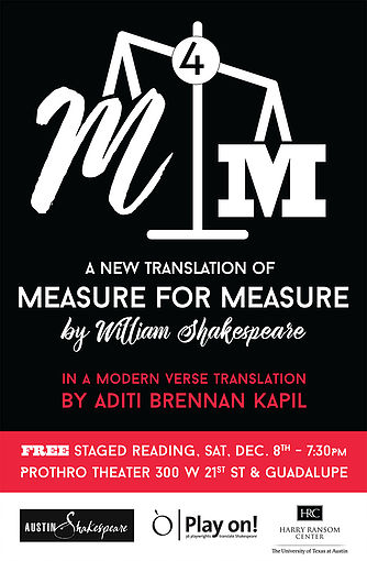 Measure for Measure by Austin Shakespeare