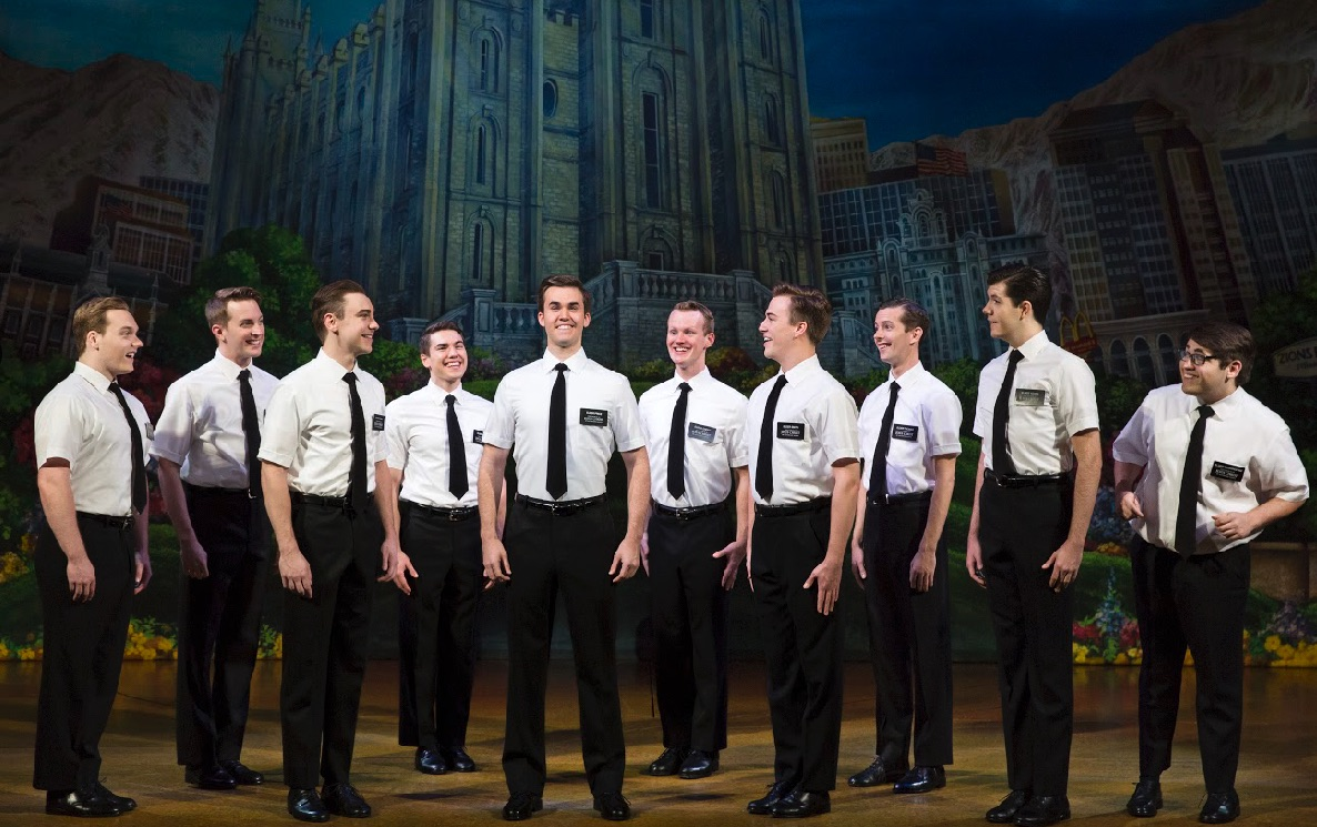 The Book of Mormon by touring company