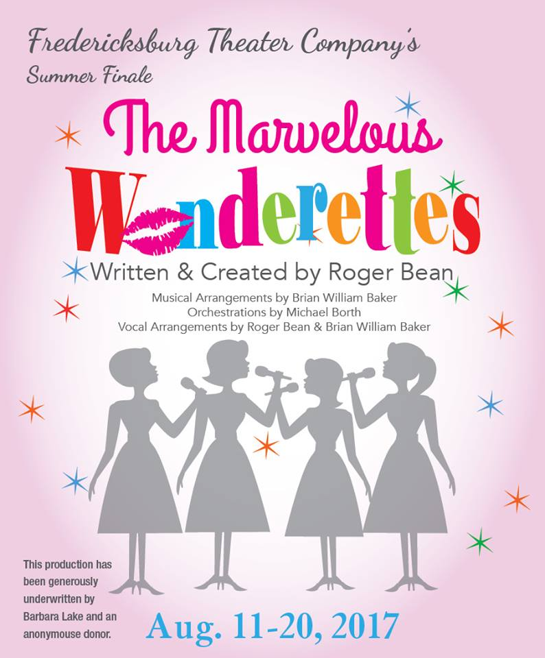 The Marvelous Wonderettes by Fredericksburg Theater Company