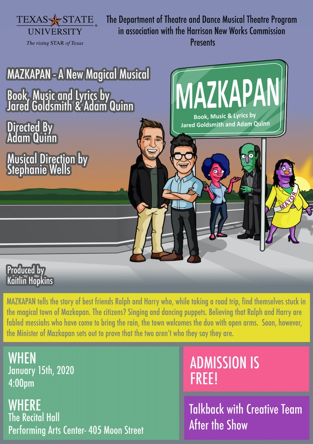 Mazkapan by Texas State University