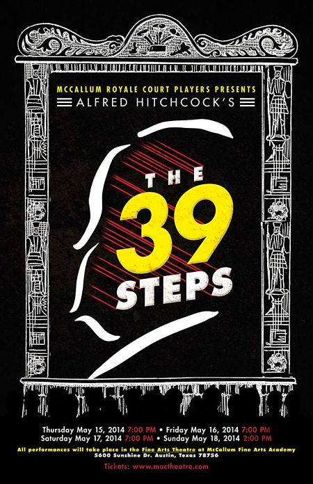 The 39 Steps by McCallum Fine Arts Academy