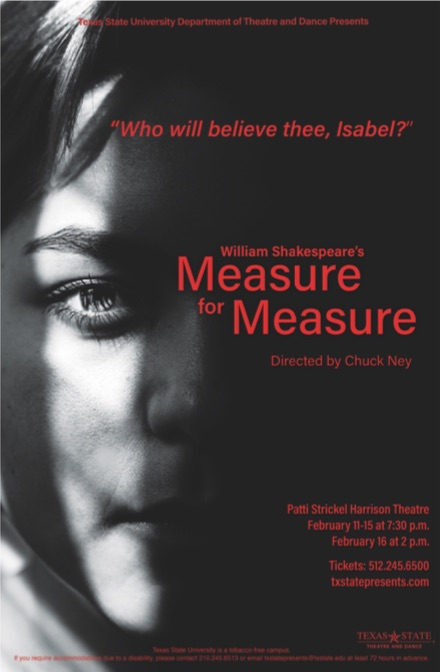 Measure for Measure by Texas State University