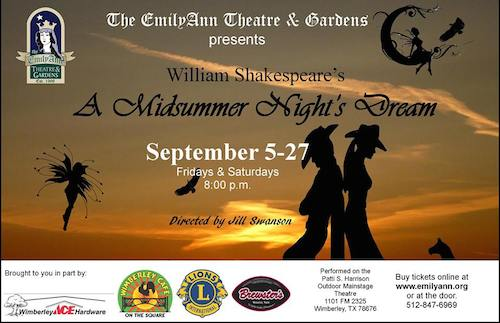 A Midsummer Night's Dream by Emily Ann Theatre