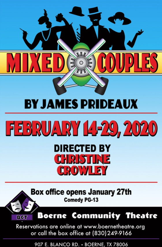 Mixed Couples by Boerne Community Theatre