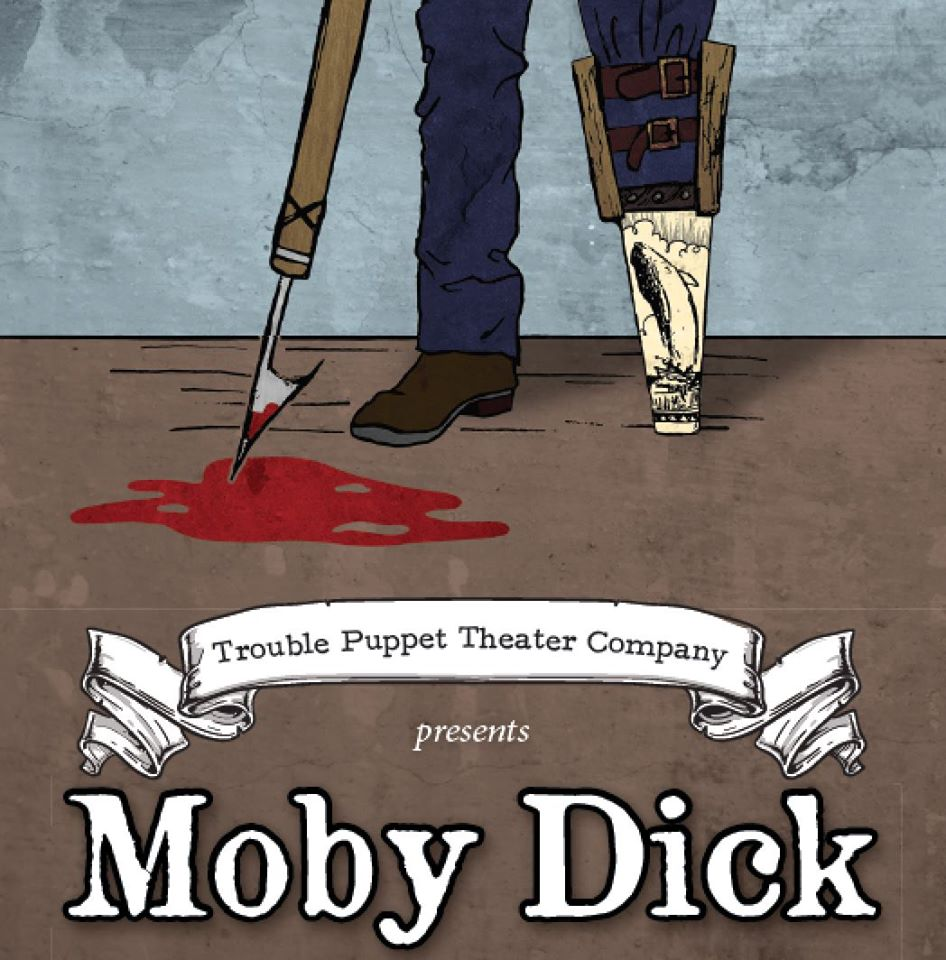 Moby Dick by Trouble Puppet Theatre Company