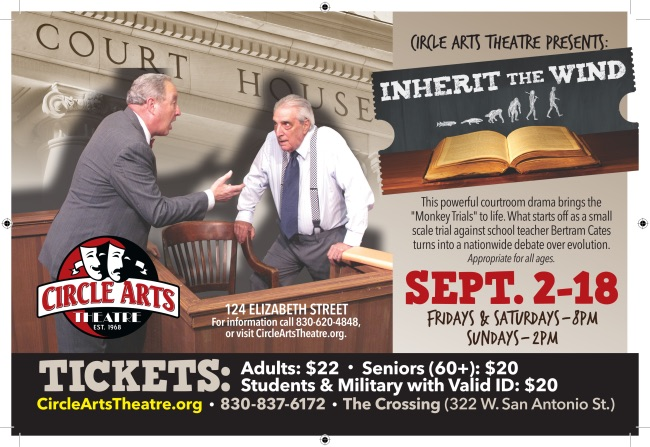 Inherit the Wind by Circle Arts Theatre