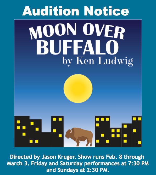 Auditions for Moon Over Buffalo, by Wimberley Players