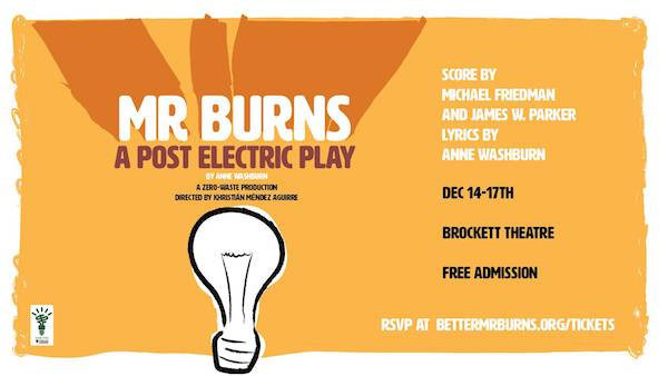 Mr. Burns, A Post-Electric Play by The Orange Fringe