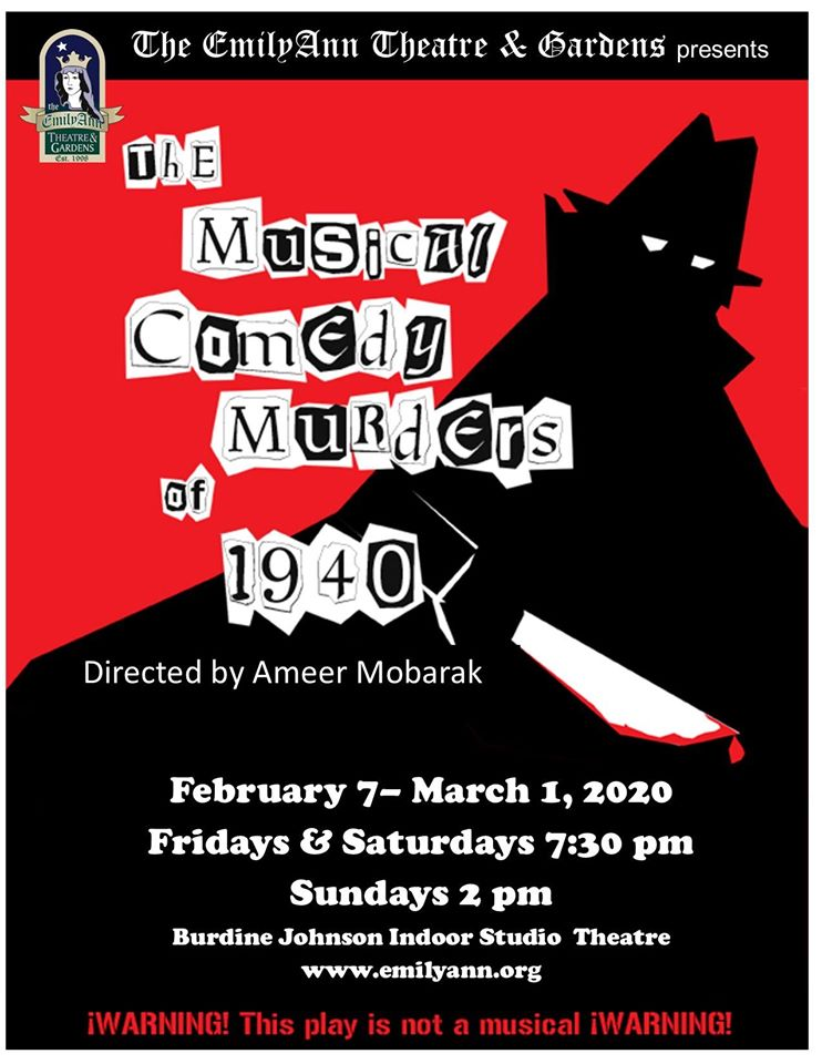 The Musical Comedy Murders of 1940 by Emily Ann Theatre