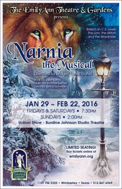 Narnia, the musical by Emily Ann Theatre
