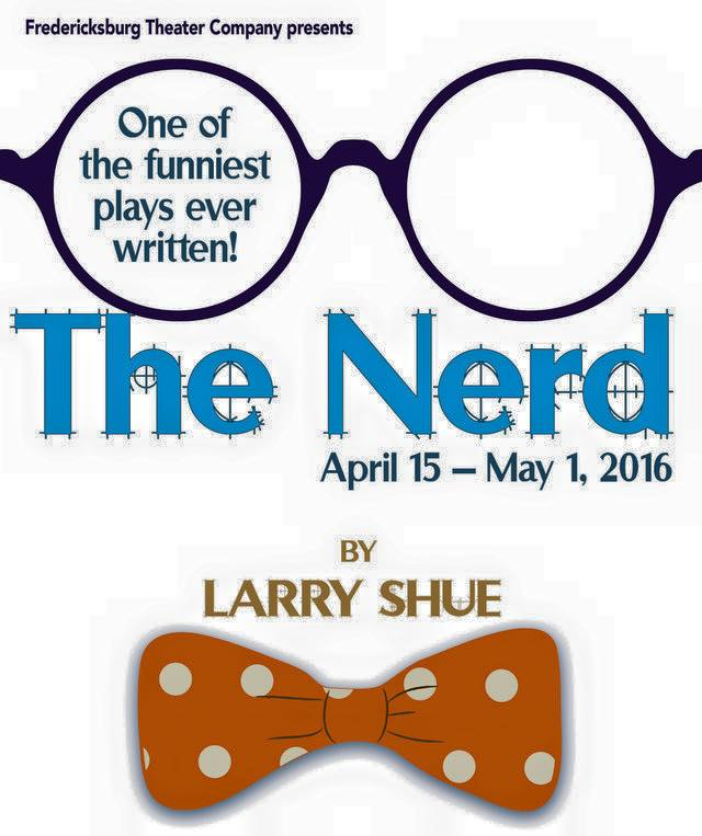 Auditions for The Nerd, by Fredericksburg Theater Company