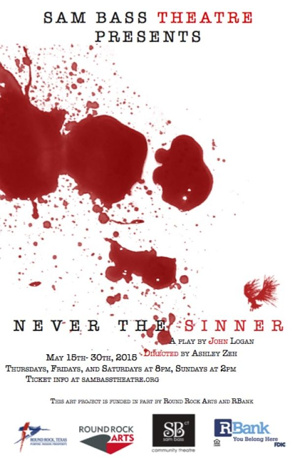 Never the Sinner by Sam Bass Community Theatre