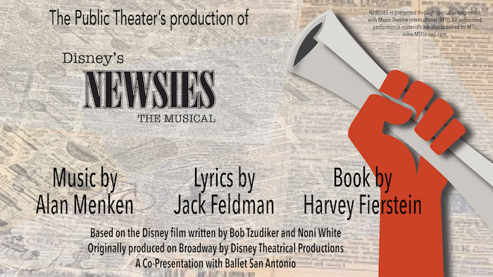 Disney's Newsies by The Public Theater