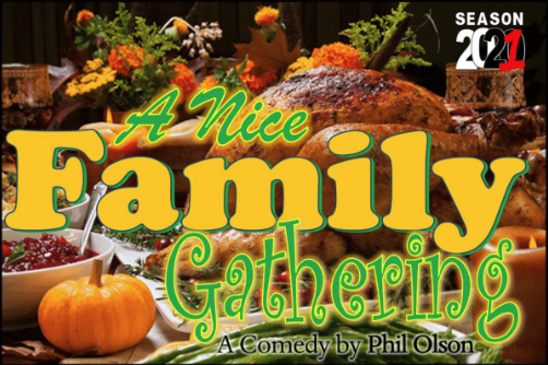 Auditions for A Nice Family Gathering, by Playhouse 2000, Kerrville