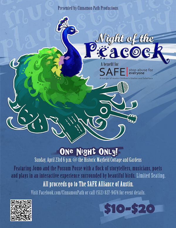 Night of the Peacock by Cinnamon Path Theater