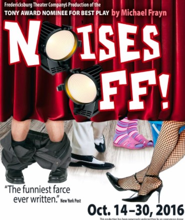Noises Off by Fredericksburg Theater Company