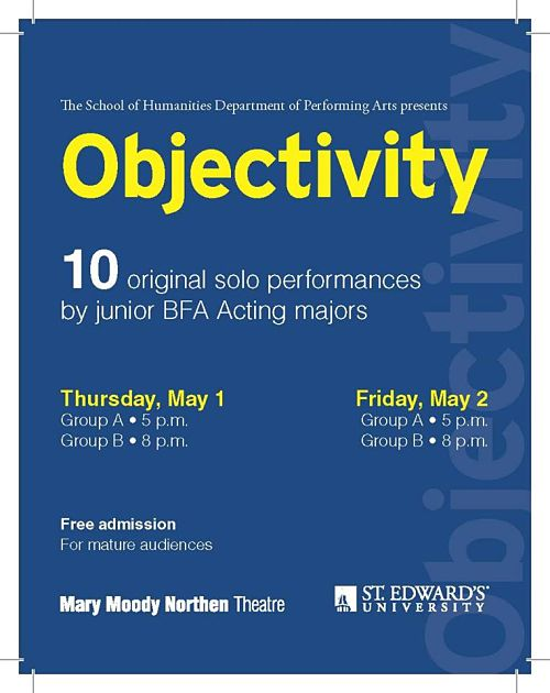 Objectivity, 2014 by Mary Moody Northen Theatre