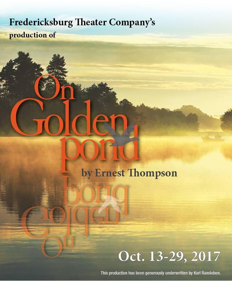 On Golden Pond by Fredericksburg Theater Company