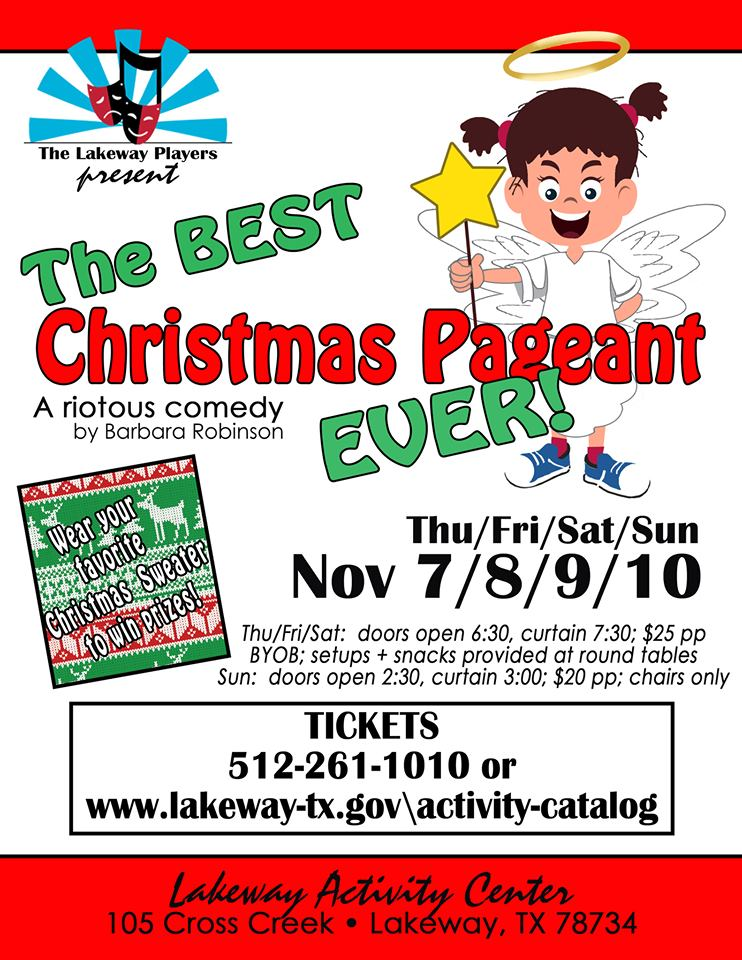 The Best Christmas Pageant Ever by Lakeway Players