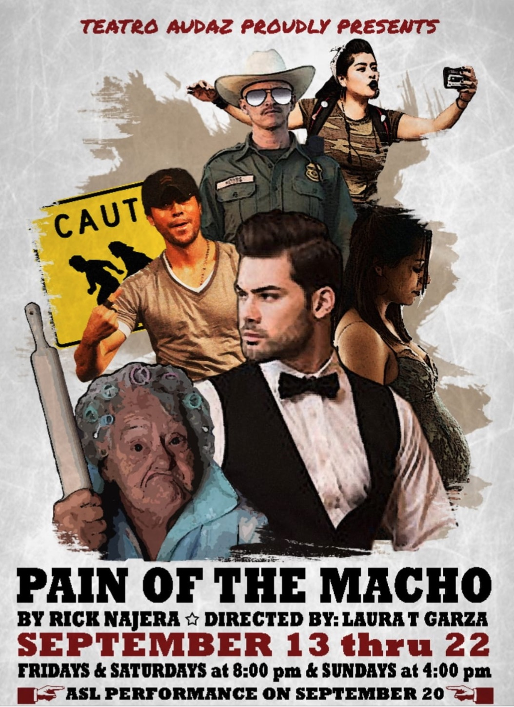 Pain of the Macho  by Teatro Audaz