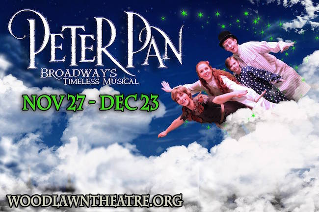 Peter Pan, musical by Woodlawn Theatre