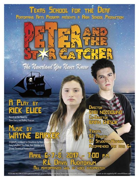 Peter and the Starcatcher by Texas School for the Deaf Drama Department