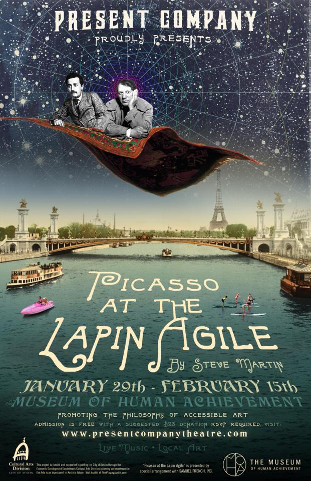 Picasso at the Lapin Agile by Present Company Theatre