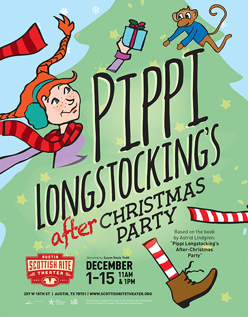 Pippi Longstocking's After Christmas Party by Scottish Rite Theater