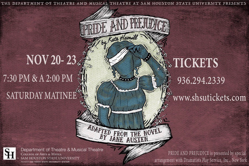 Pride and Prejudice by Sam Houston State University Theatre Department
