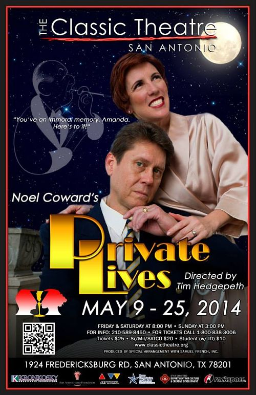 Private Lives by Classic Theatre of San Antonio