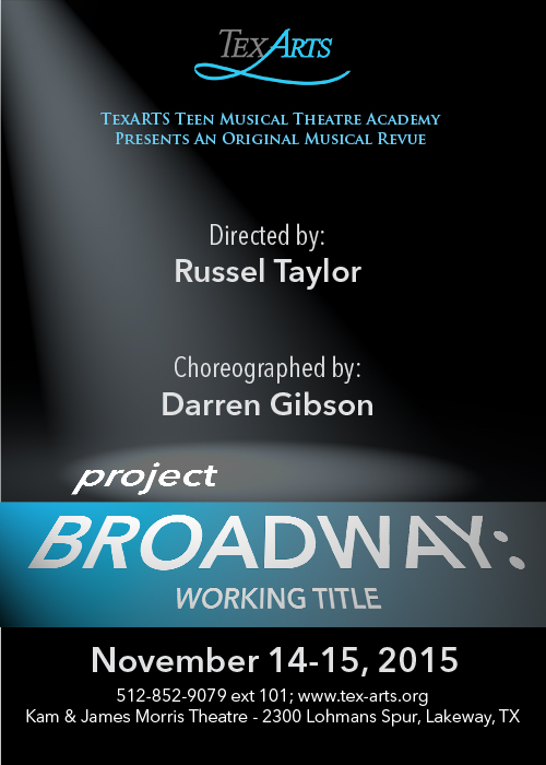 Project Broadway: Working Title by Tex-Arts