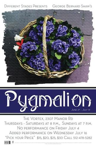 Pygmalion by Different Stages