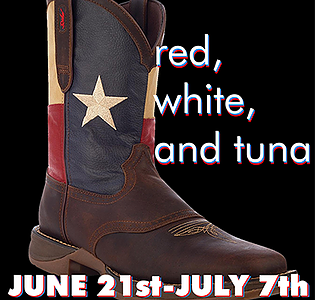 Red, White and Tuna by Sam Bass Community Theatre
