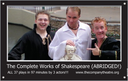 The Complete Works of William Shakespeare (Abridged) by Company Theatre