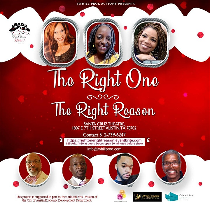 The Right One - The Right Reason by JW Hill Productions, LLC