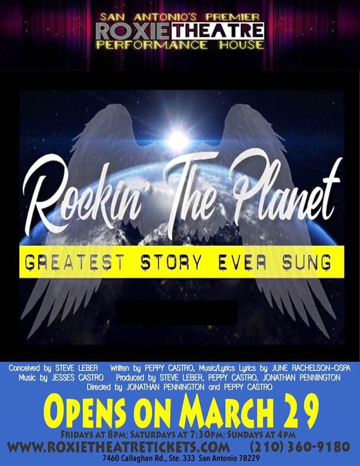 Rockin' the Planet: The Greatest Story Ever Sung by Roxie Theatre Company