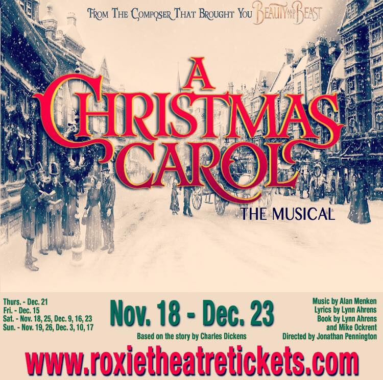 A Christmas Carol, the musical by Roxie Theatre Company