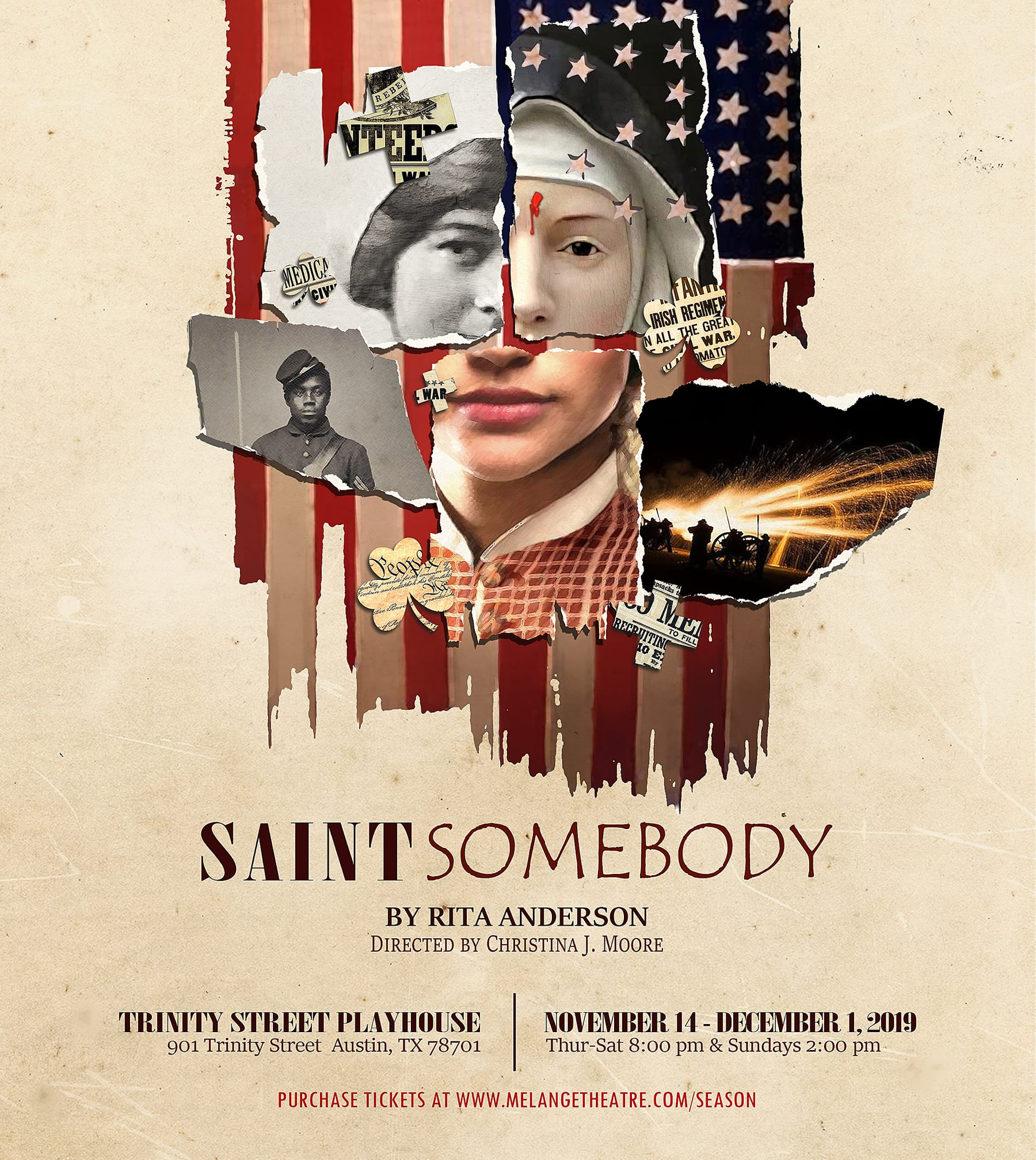 Saint Somebody by Mélange Theatre Company