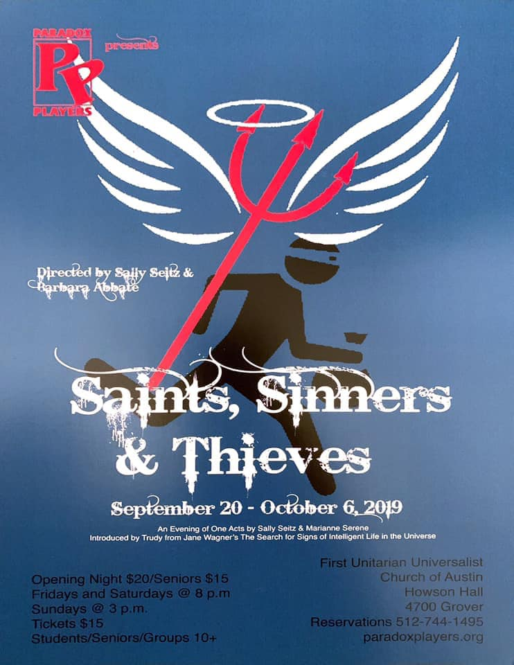 Saints, Sinners and Thieves by Paradox Players