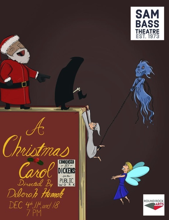 A Christmas Carol by Sam Bass Community Theatre