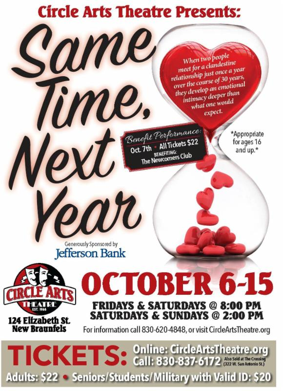 Same Time, Next Year by Circle Arts Theatre