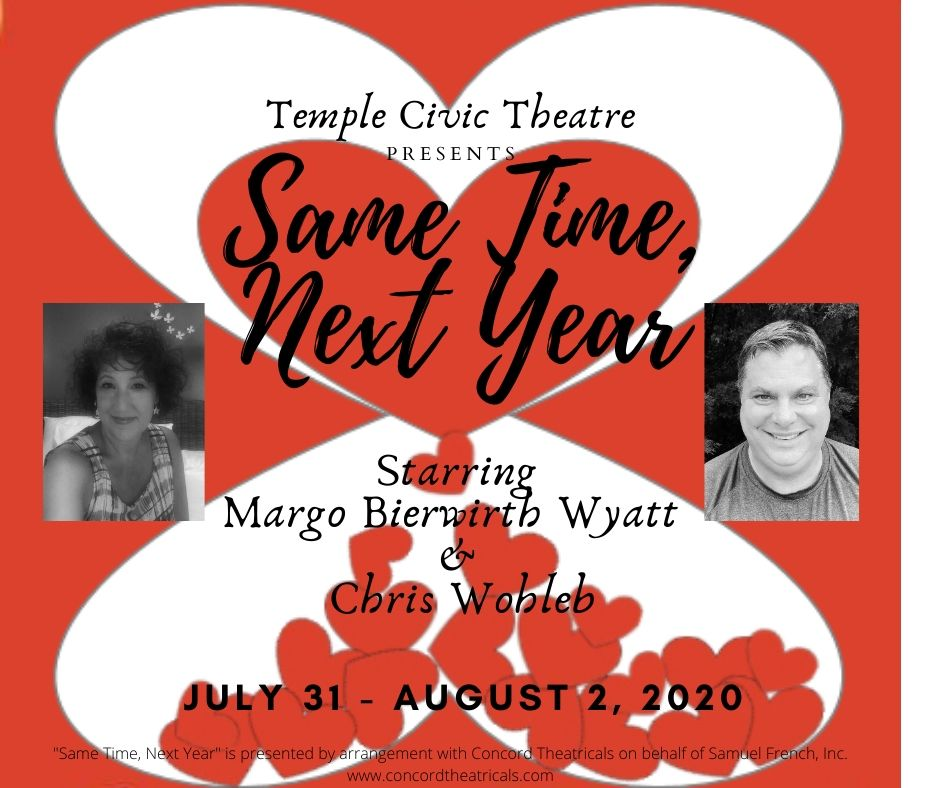 Same Time, Next Year by Temple Civic Theatre