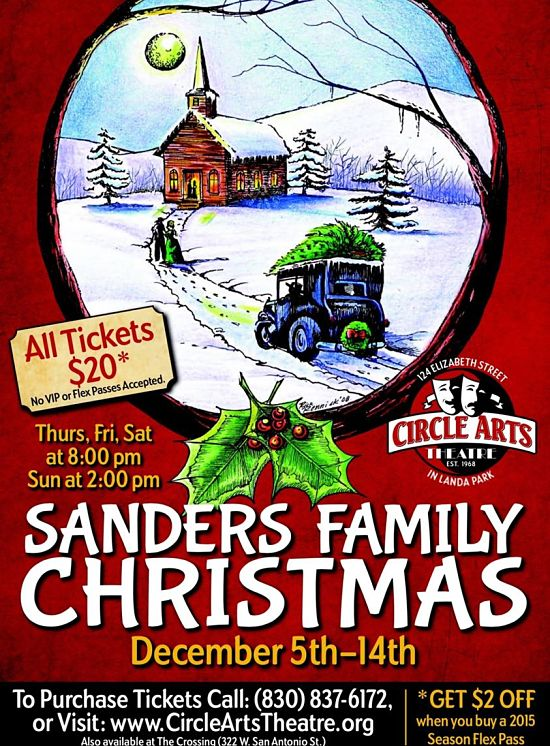 Sanders Family Christmas by Circle Arts Theatre