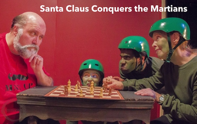 Santa Claus Conquers the Martians by Overtime Theater