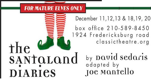 The Santaland Diaries by Classic Theatre of San Antonio