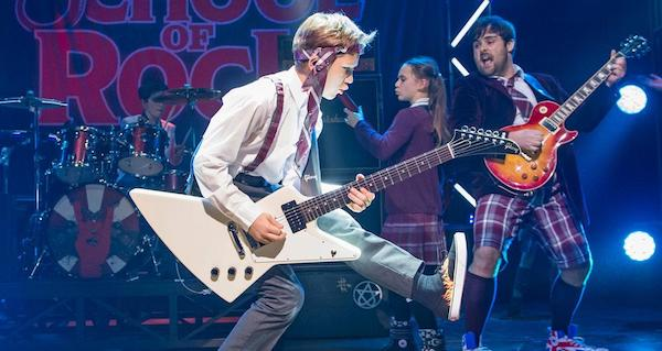 School of Rock by touring company