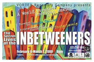 The Secret Lives of the InBetweeners by Vortex Repertory Theatre