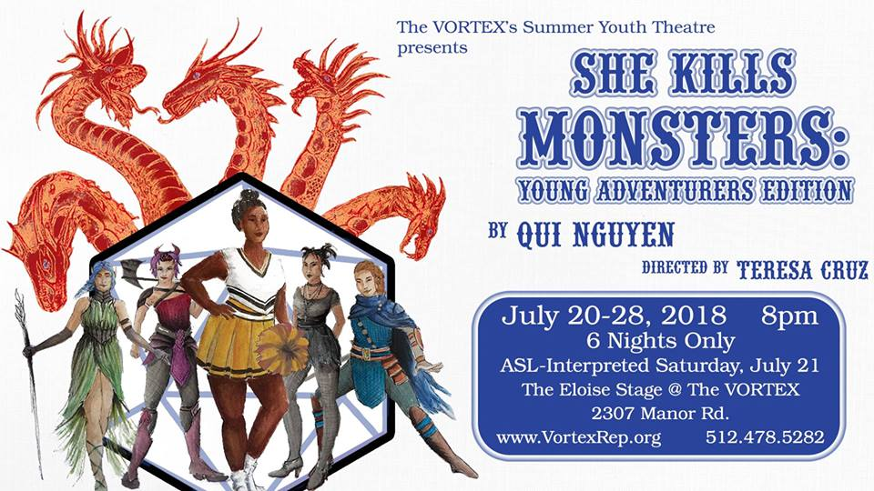 She Kills Monsters by Vortex Summer Youth Theatre