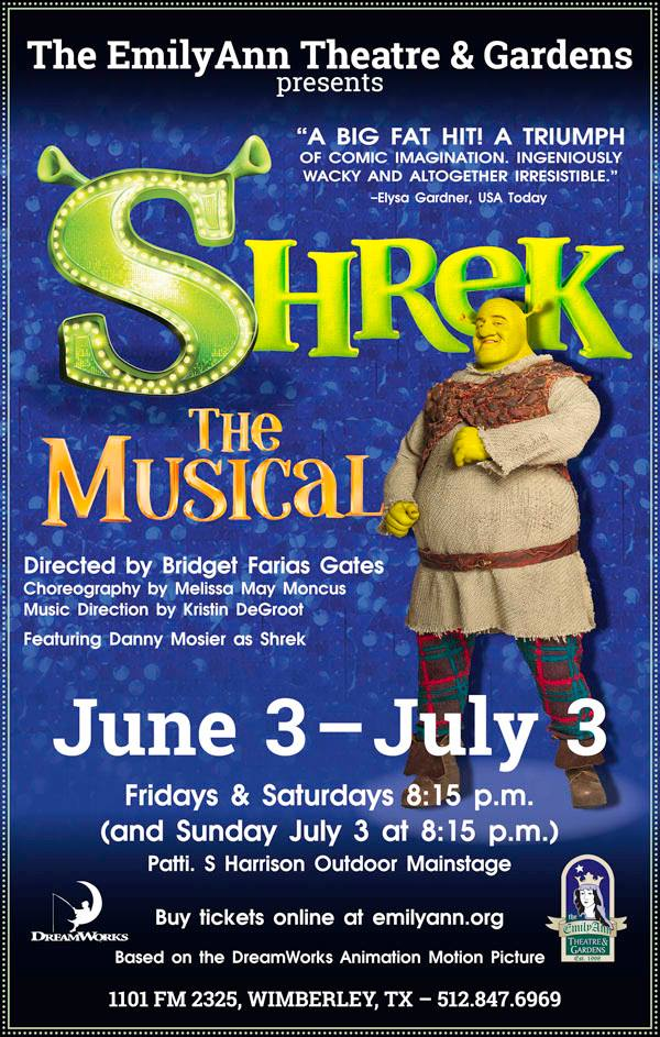 Shrek The Musical by Emily Ann Theatre